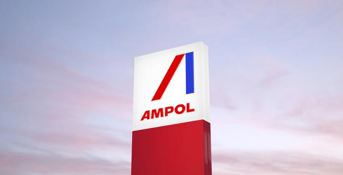 Caltex unveils new Ampol logo as brand comes back to Australia